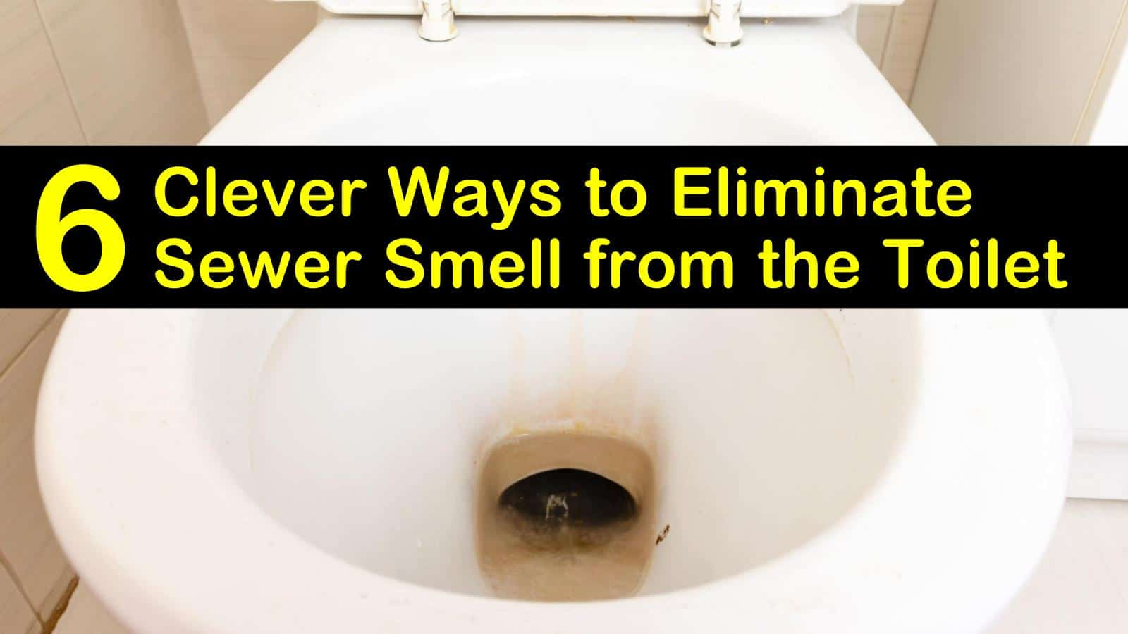 6 Clever Ways To Eliminate Sewer Smell From The Toilet