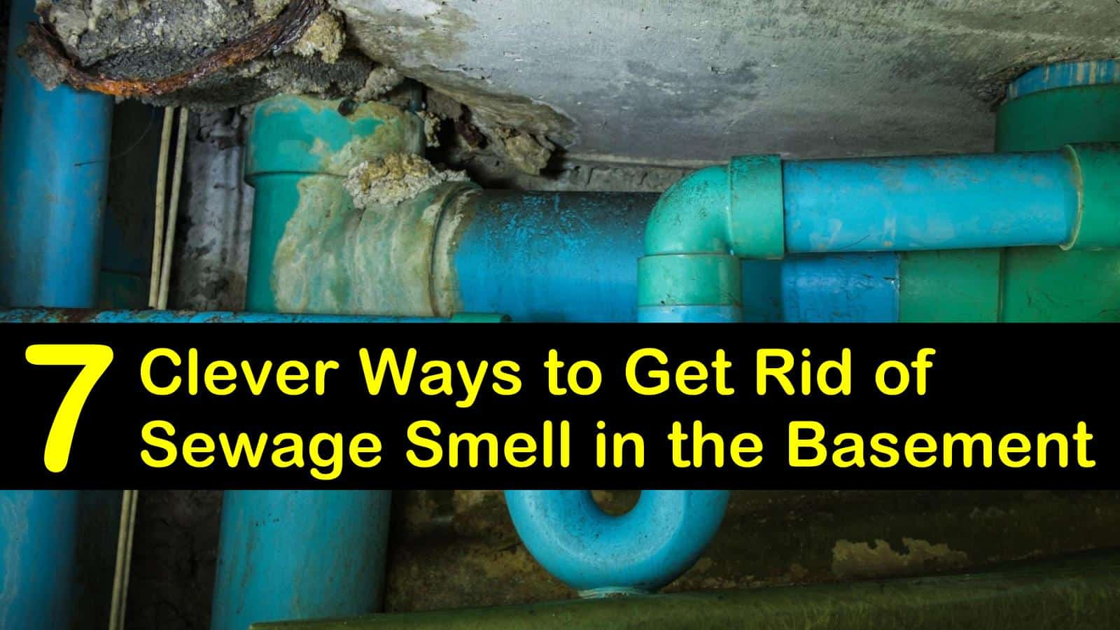 7 Clever Ways To Get Rid Of Sewage Smell In The Basement