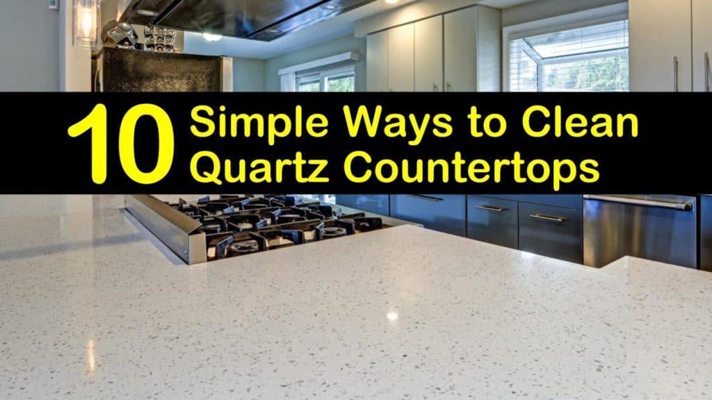 how to clean quartz countertops titleimg1