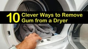 how to remove gum from a dryer titleimg1