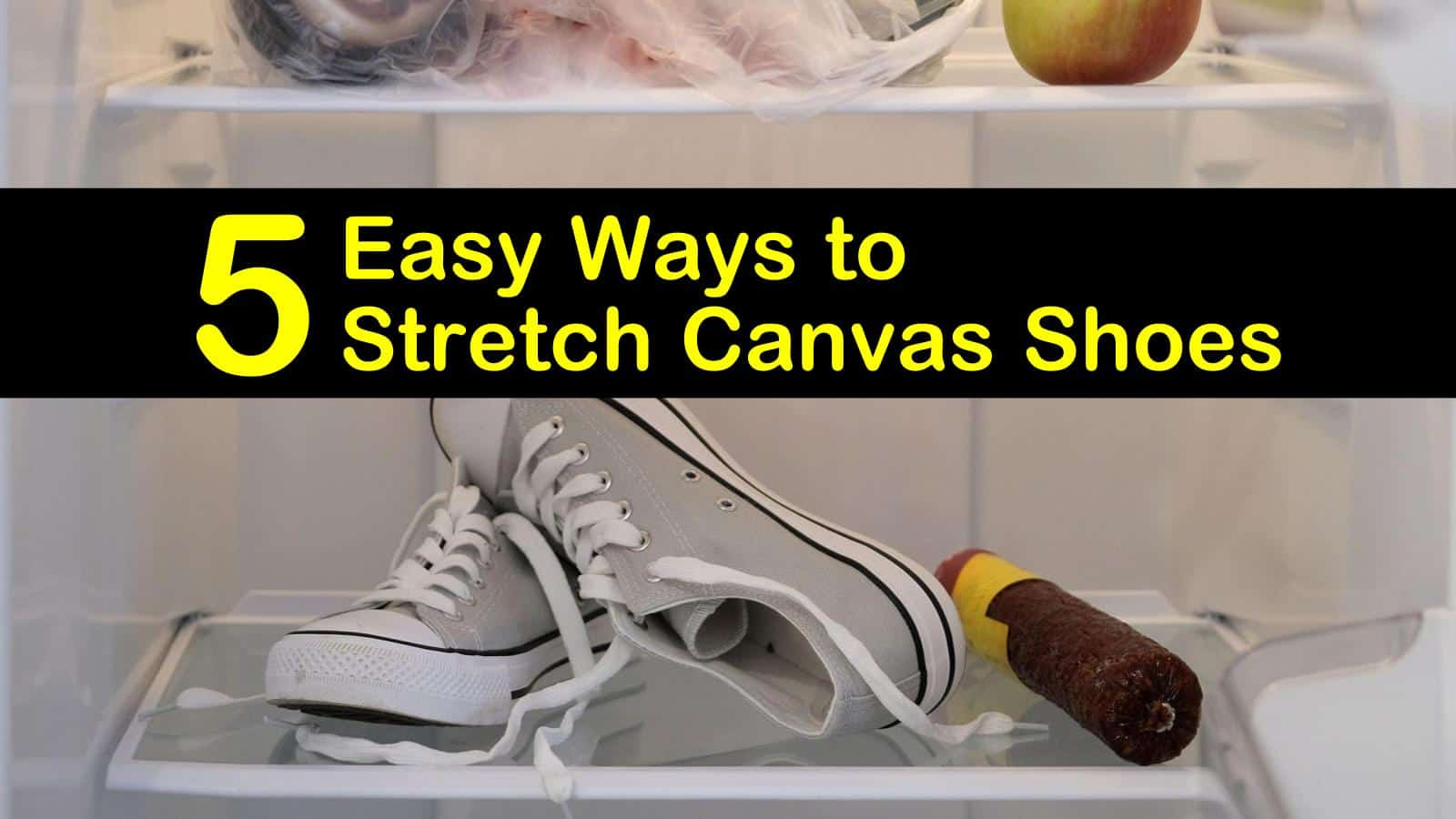 5 Easy Ways to Stretch Canvas Shoes