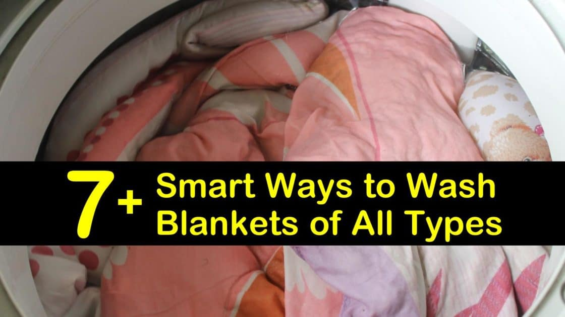 7+ Smart Ways to Wash Blankets of All Types