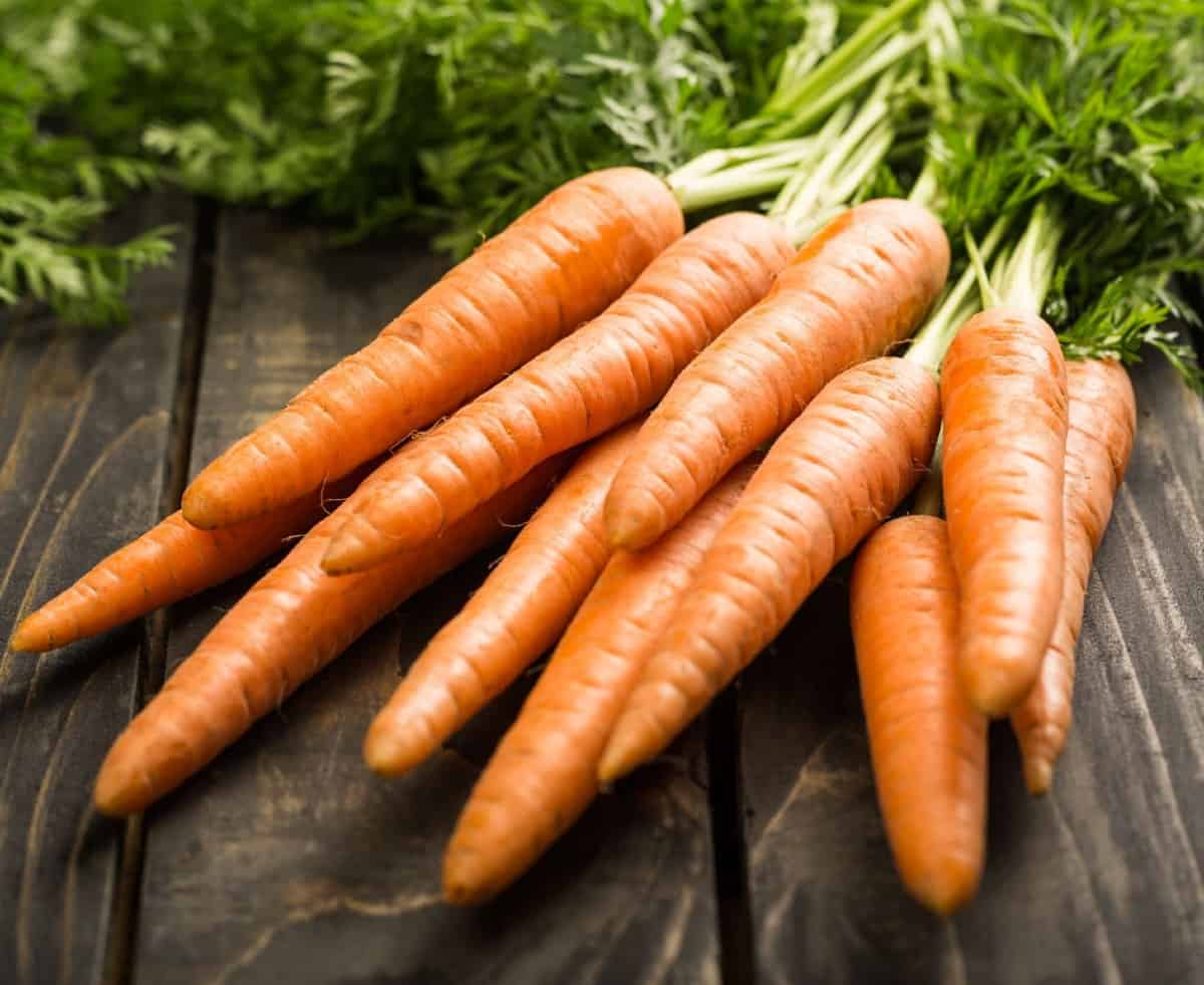 carrots are a low maintenance vegetable to grow