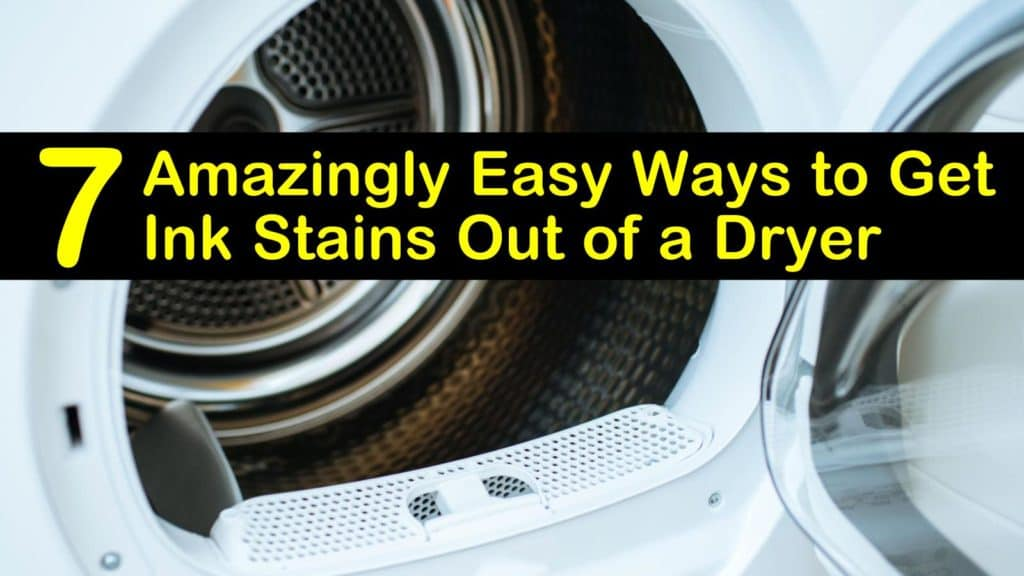 How to Get Ink Stains Out of a Dryer titleimg1