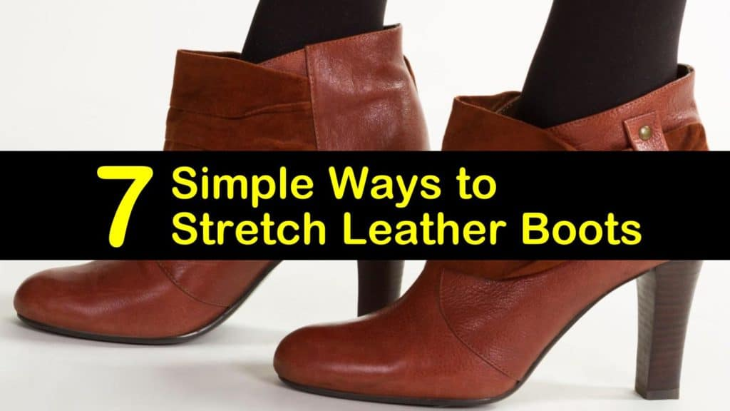 How to Stretch Leather Boots titleimg1