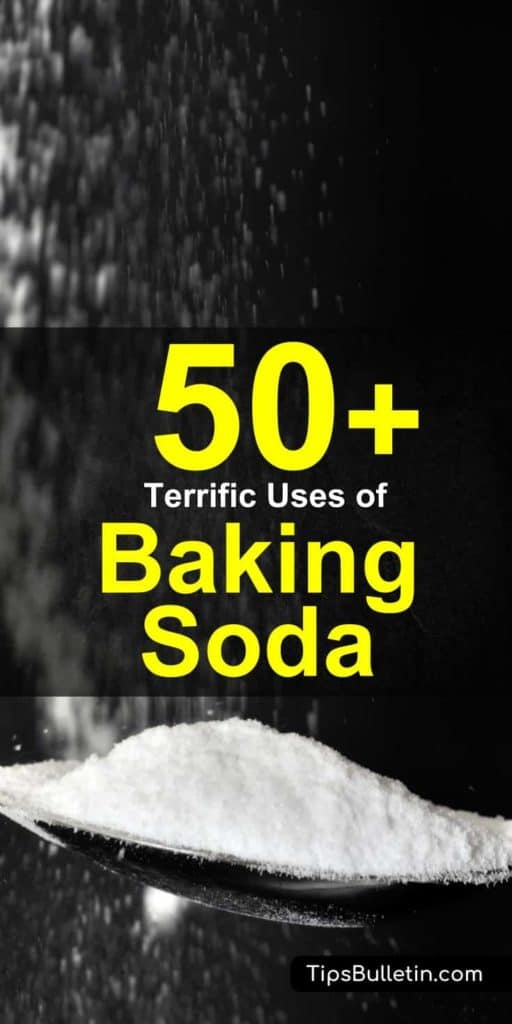 Baking soda is a miraculous product that can be used to clean, bake, and improve your health. Here are more than 50 amazing baking soda uses that you should try... #bakingsoda #carpetcleaning #clean