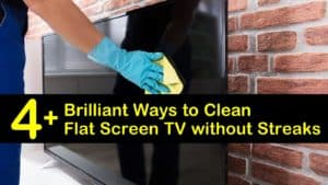How to Clean Flat Screen TV without Streaks titleimg1