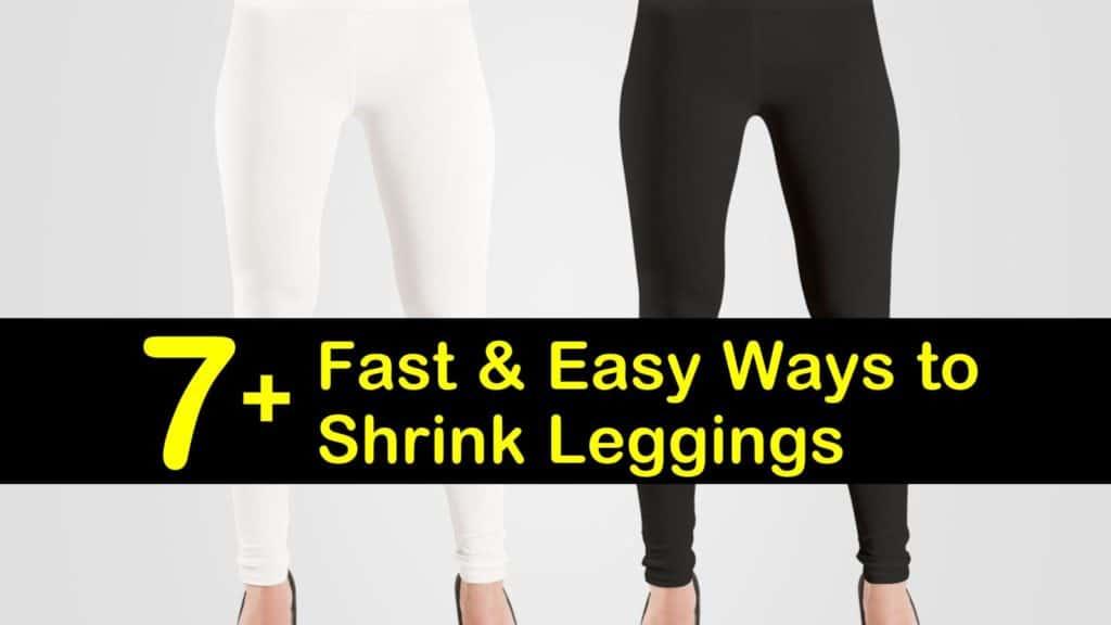 How to Shrink Leggings titleimg1