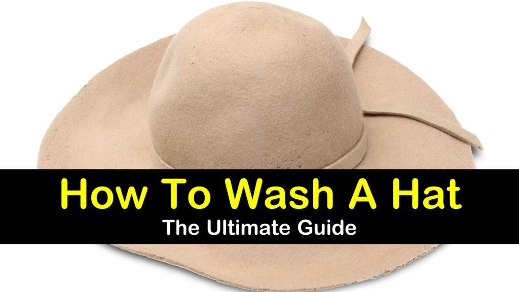 How to Wash a Hat titleimg1