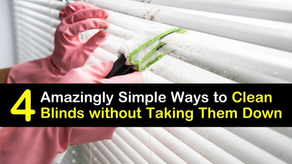 How to Clean Blinds without Taking Them Down titleimg1
