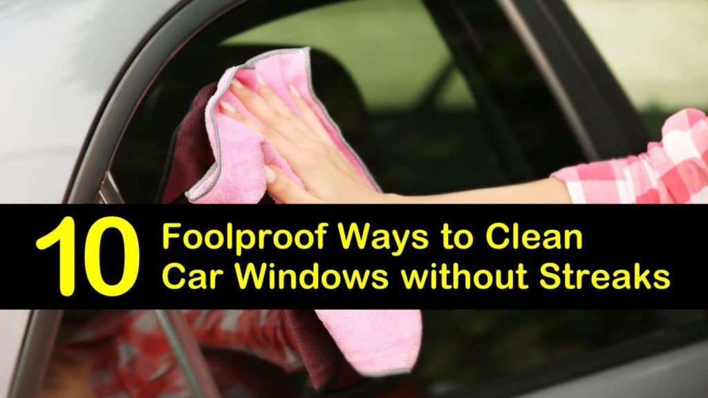 How to Clean Car Windows without Streaks titleimg1