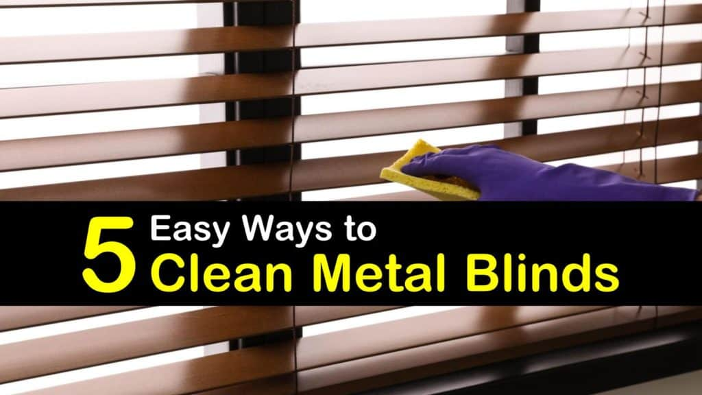 How to Clean Metal Blinds titleimg1