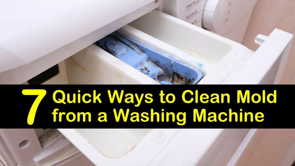 How to Clean Mold from a Washing Machine titleimg1