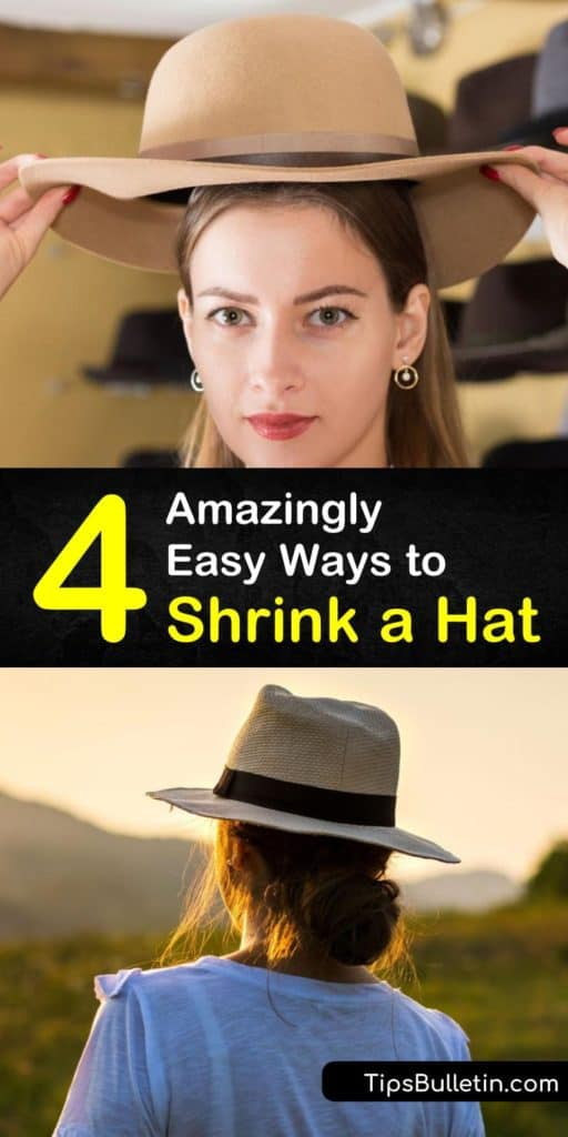Gain some hat shrinking know how with these tips. Get any fitted baseball cap or polyester hat to sit secure with the help of a sweatband or some tongs and laundry detergent. With high heat and a dunk, no hat is too big. #shrinkhats #hat #shrink #hatshrinking #shrinkfittedhat