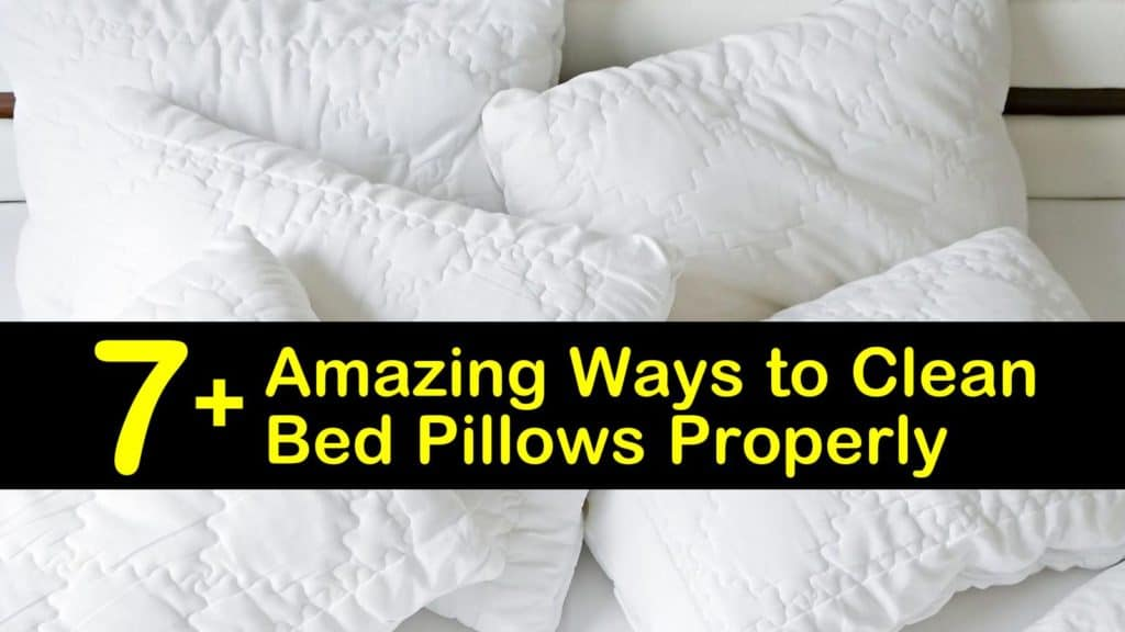 How to Wash Bed Pillows titleimg1