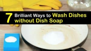 How to Wash Dishes without Dish Soap titleimg1