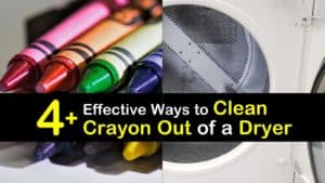 How to Clean Crayon Out of a Dryer titleimg1