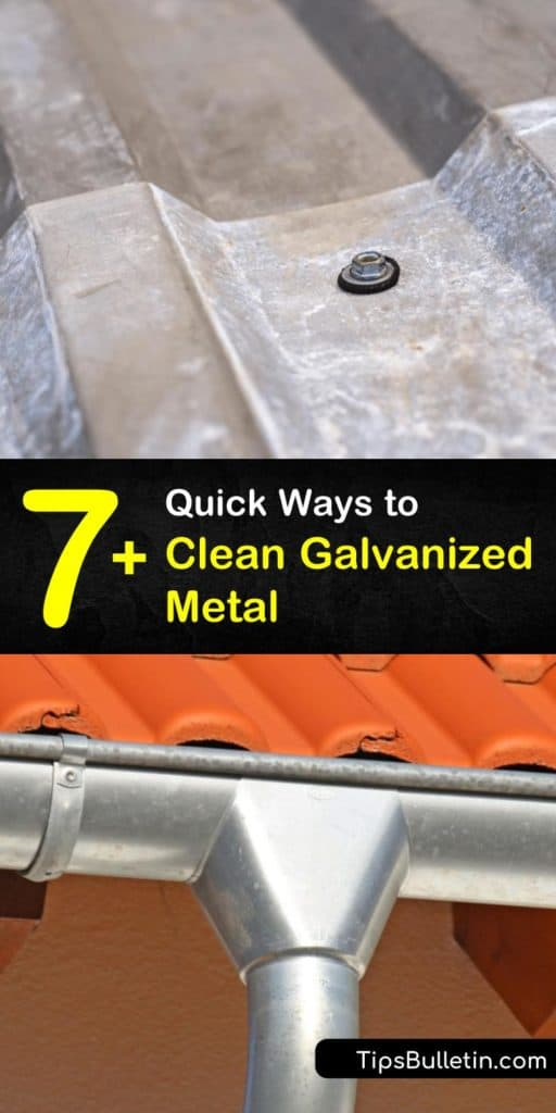 Discover how to clean the galvanized coating on stainless steel by scrubbing with your favorite cleaning solution and hot water, then rinsing thoroughly. #clean #galvanized #metal #metalcleaning #galvanizedsteel