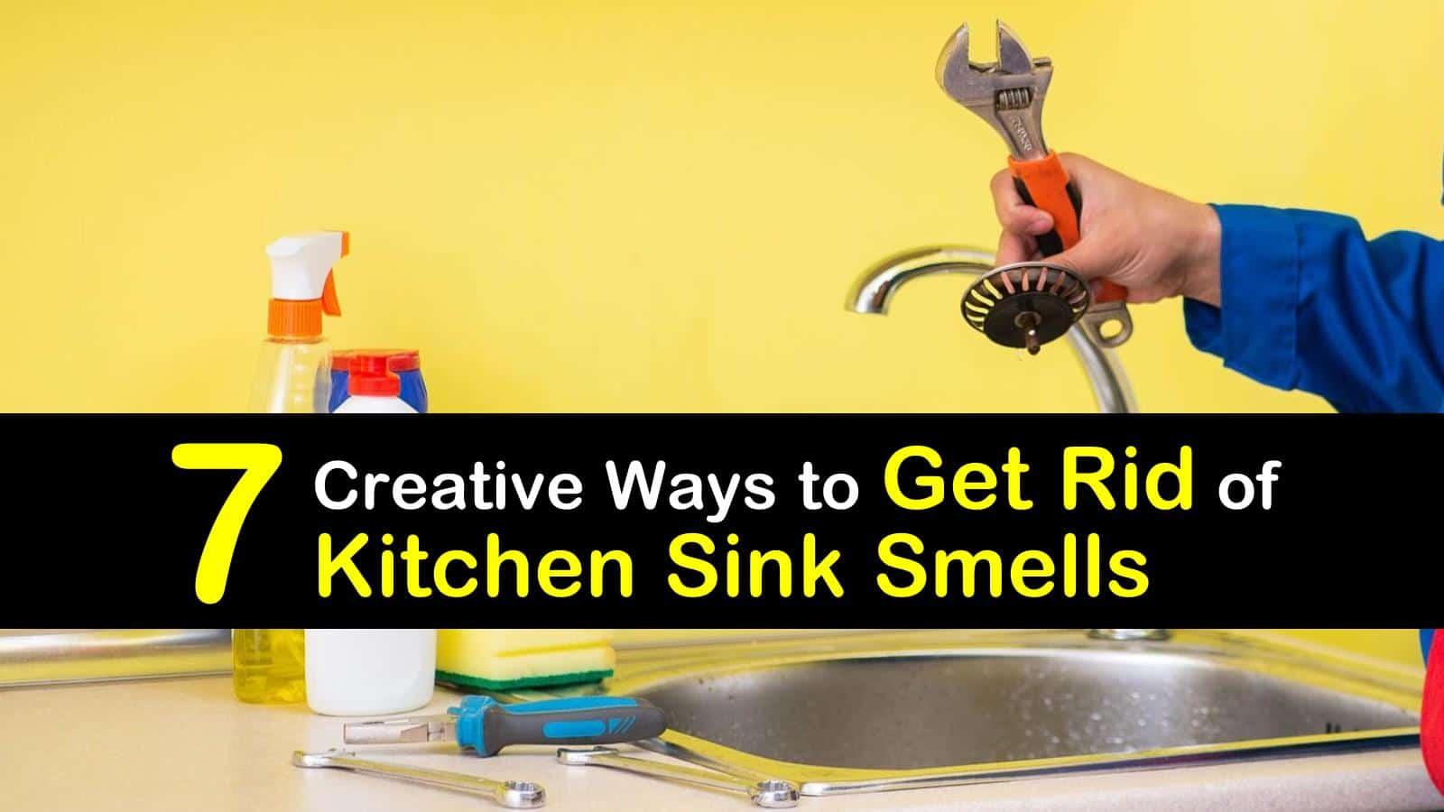 7 Creative Ways To Get Rid Of Kitchen Sink Smells
