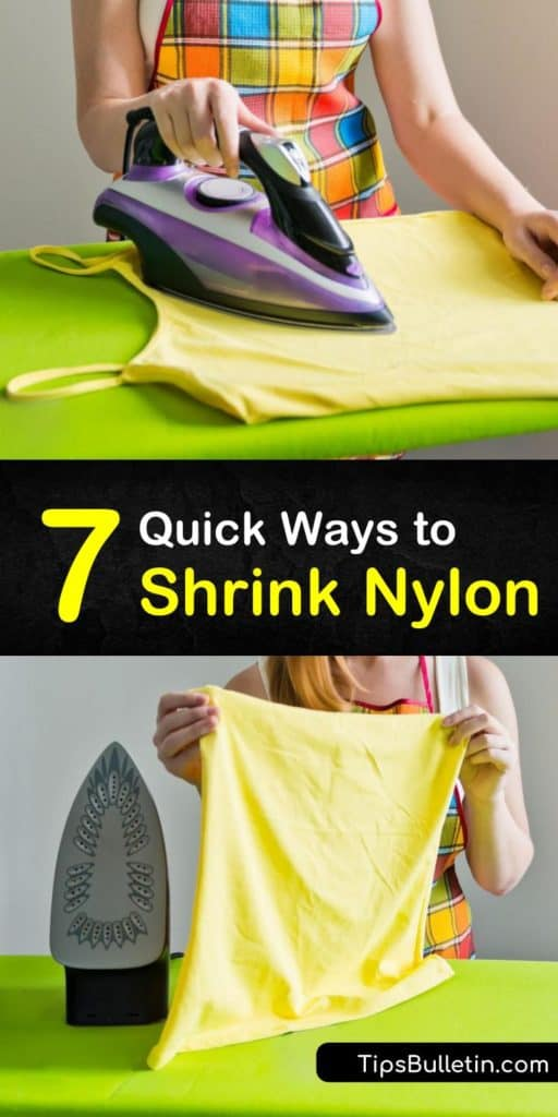 Discover how to shrink nylon using things like the dryer on medium heat, a wash cycle with high temperatures, or an iron on low heat. We offer tips for spandex, rayon, and polyester blends to ensure the right care. #shrink #nylon #howtoshrink #shrinknylon