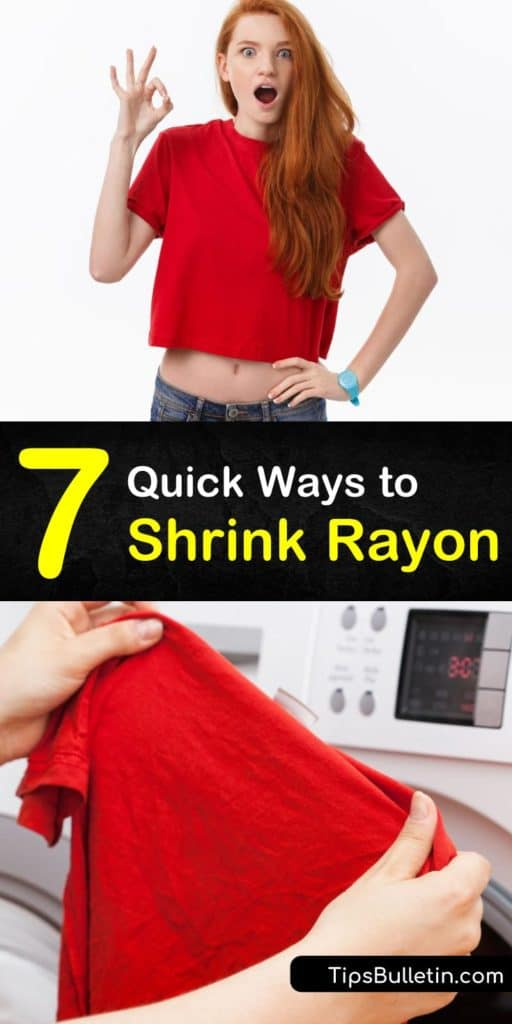 Learn how to shrink dry clean only viscose or rayon fabric by hand washing or using a machine wash with warm water. Shrink your favorite denim jeans or unshrink them using cold water and soap. These tips will put you in control of your favorite garment's fit! #shrinkrayon #unshrinkrayon #rayon