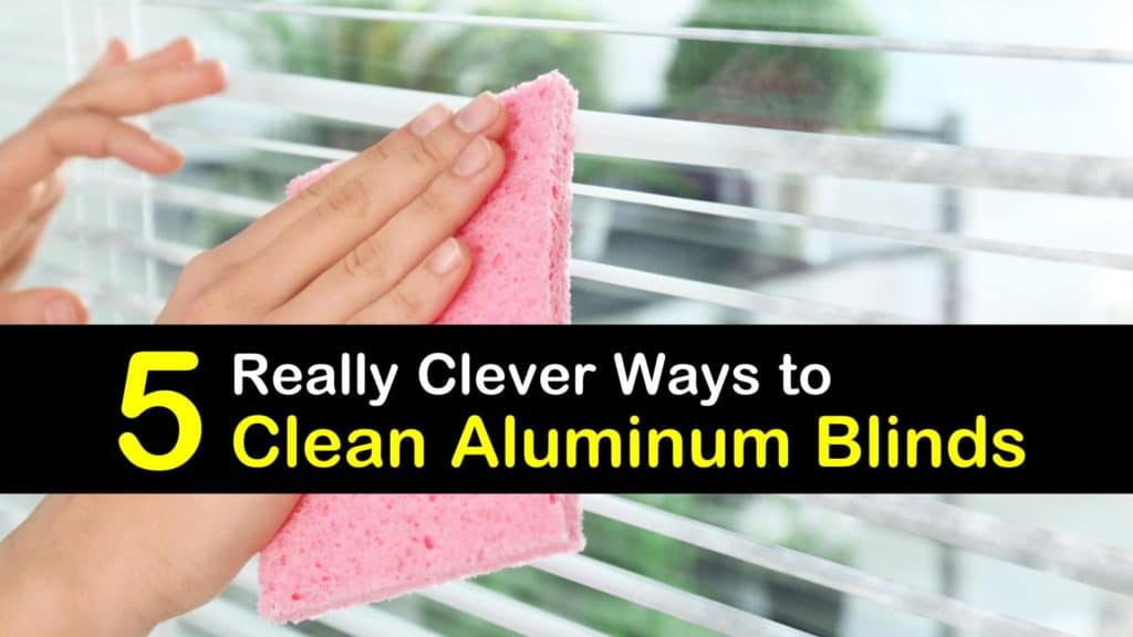 How to Clean Aluminum Blinds titleimg1