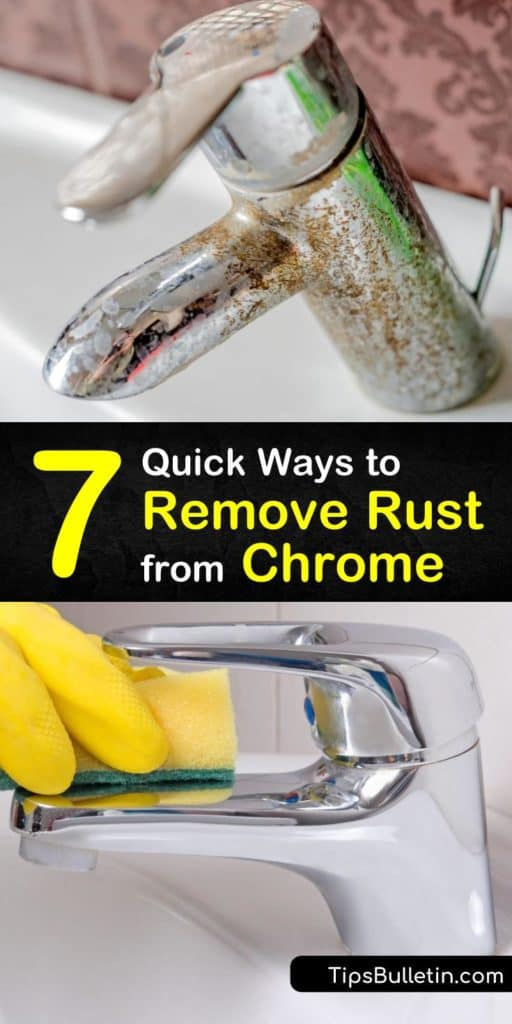 Discover how to spruce up a chrome finish or remove surface rust from stainless steel using simple DIY techniques and sealing with chrome polish or car wax. #removingrustfromchrome #removerustfromchrome #chromerustremoval