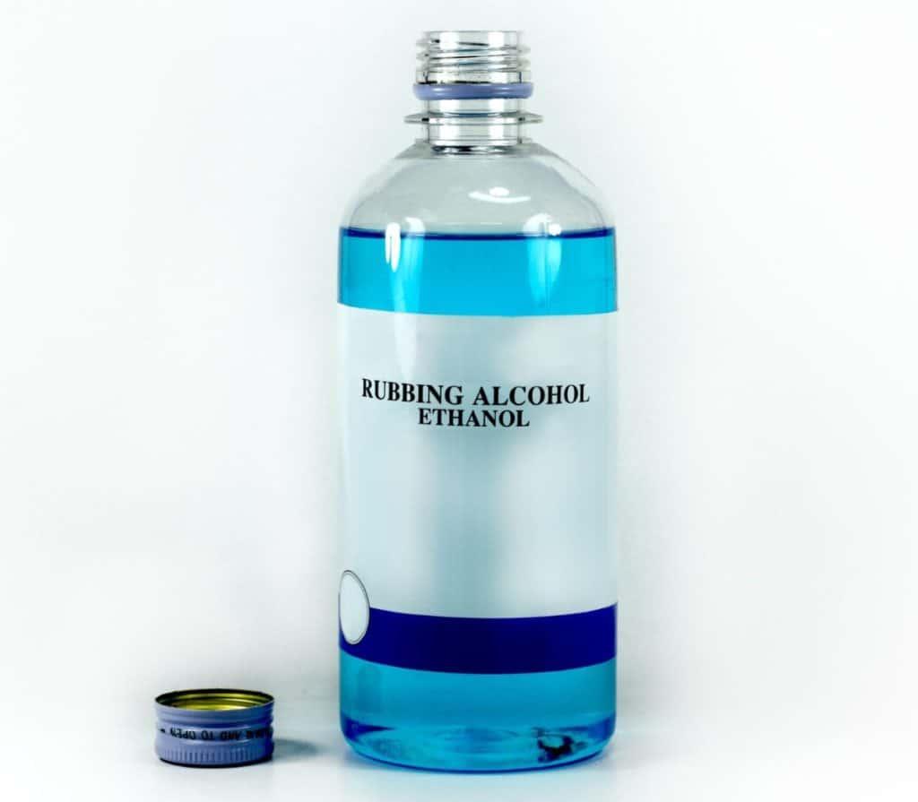 Rubbing alcohol has many uses.