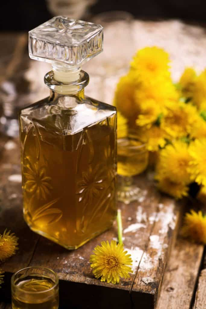 Dandelion juice has medicinal purposes.