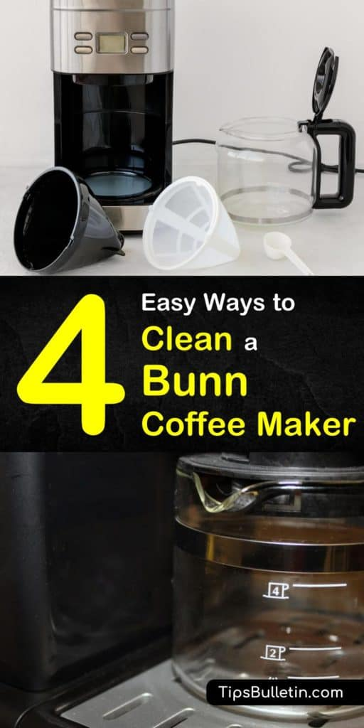 How Do You Clean A Bunn Coffee Maker With Vinegar - Image ...
