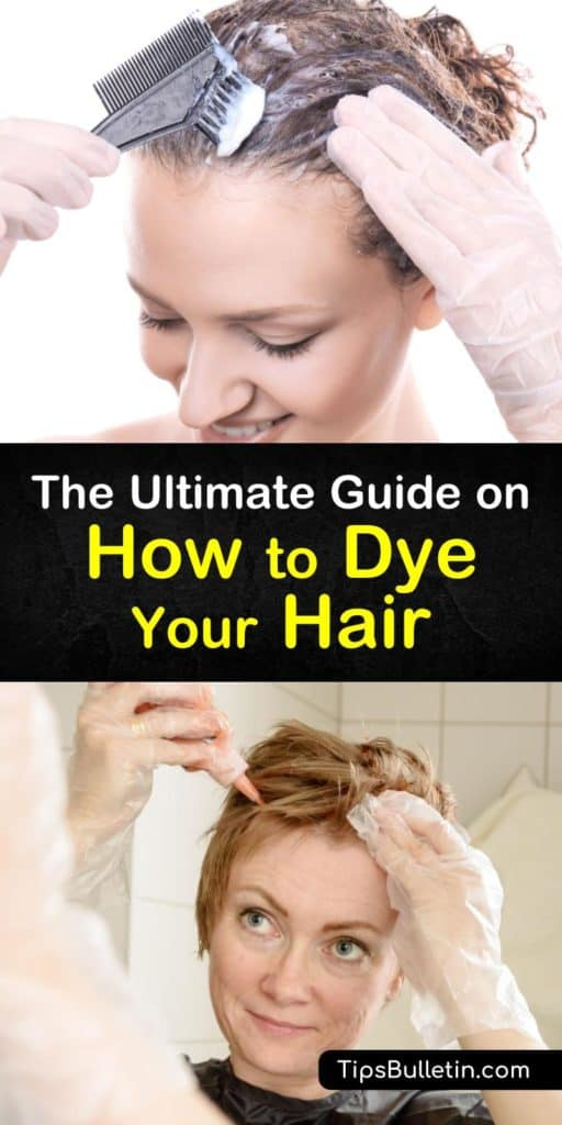 How to dye your hair at home. with DIY home remedies and recipes to color your hear brown, blonde, black, red or just to set some highlights. the article shows in detail various natural ways when dyeing your hair. #dyehair #hair #natural