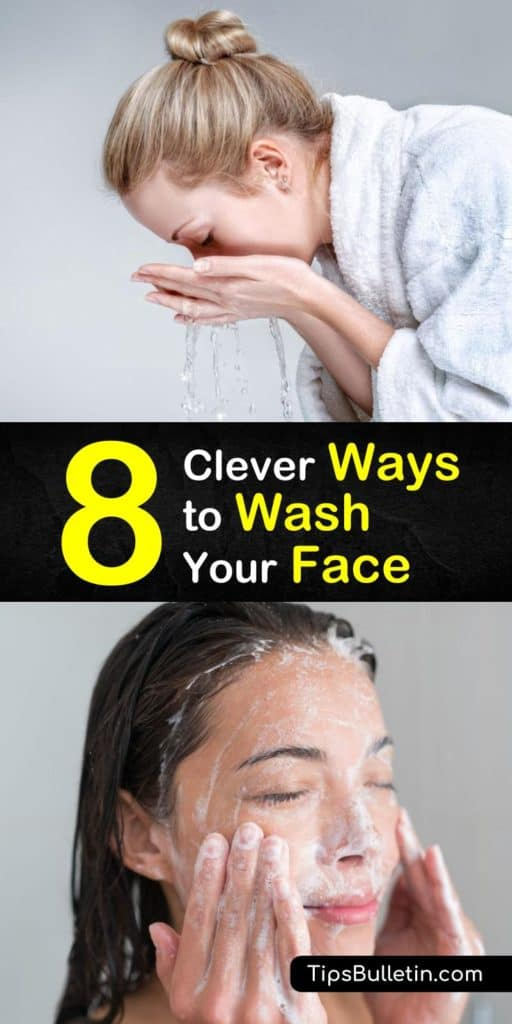 Learn how to wash your face properly with this ultimate guide. Learn how to get rid of acne the right way and discover simple steps for making a DIY natural cleanser with coconut oil, and other products. These easy skin care routines will bring back your skin's natural glow. #skincare #washface