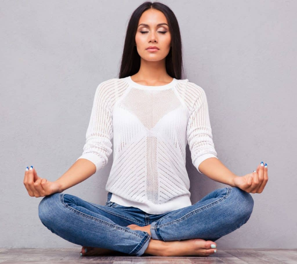 Meditation is an excellent practice for clearing the mind.