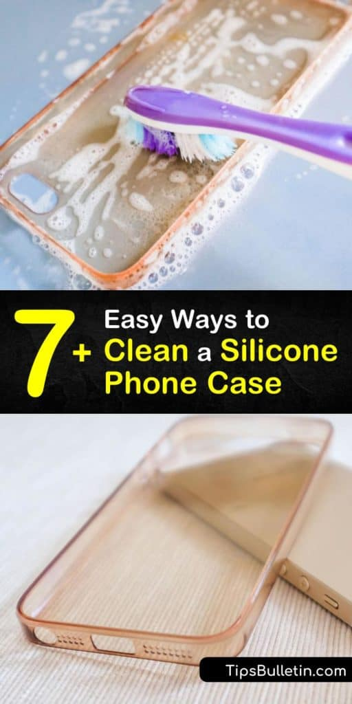 Uncover the strongest homemade phone case cleaners that use household ingredients like baking soda and rubbing alcohol. These recipes take the yellowing out of a clear phone case and remove stains from a smartphone with ease. #clean #silicone #phonecase