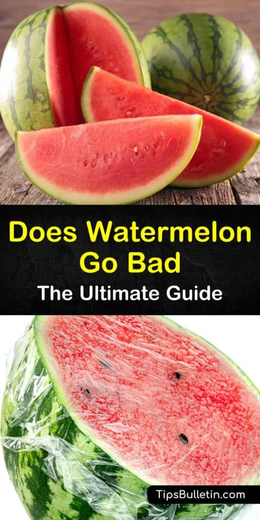 Discover how long does watermelon last after you purchase it. We talk about storing the whole watermelon at room temperature and how once it's removed from the rind you must refrigerate it in airtight containers for optimal results. #watermelon #fresh #spoiled