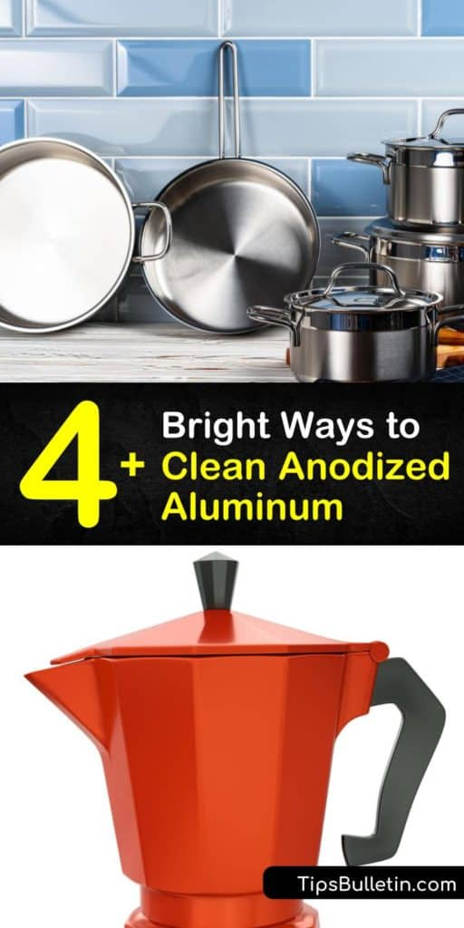 Become a master of the anodizing process and learn which cleaning products are safe for an aluminum surface with an anodized finish. It only takes fresh water, sandpaper, soap, and rubber gloves to tackle build-up and discoloration on aluminum. #clean #anodized #aluminum