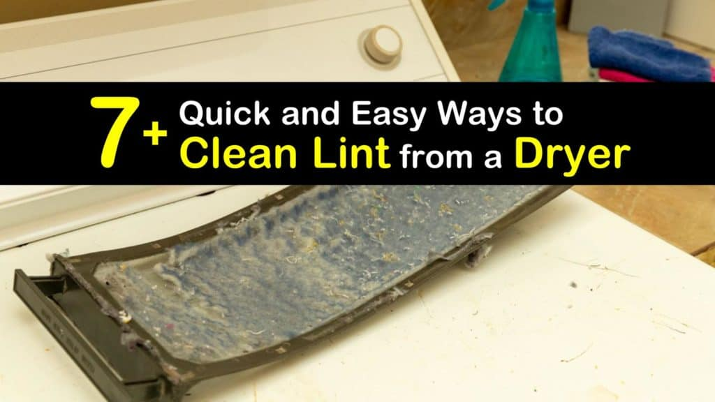 How to Clean Lint from a Dryer titleimg1