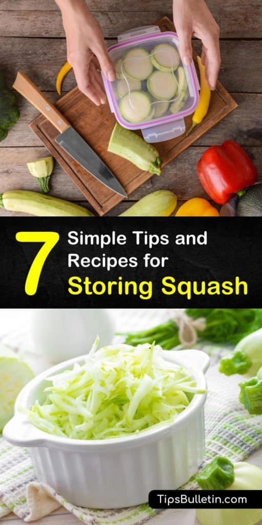 Learn how to store all types of squash, from spaghetti squash to butternut squash. Squash stores best in a cool, dark place, but it's also easy to keep winter squash and summer squash in the fridge and freezer for longer storage life. #storing #squash #howto