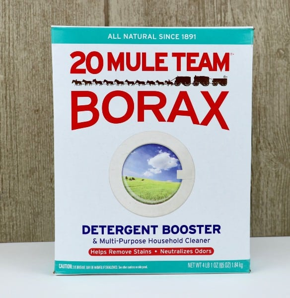 Borax is a great cleaner.