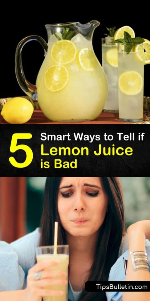 Stop panicking about getting food poisoning if your bottled lemon juice is missing a best before date. This article teaches you how to make lemon juice last, spot signs of spoilage, and how to store lemon juice with only an ice cube tray and a freezer bag. #lemon #juice #bad