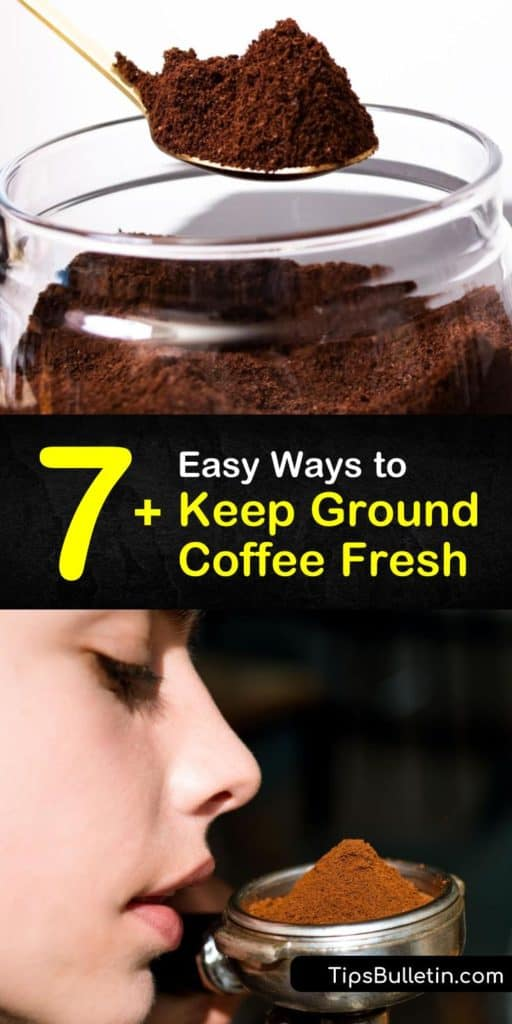 How long does coffee last and does coffee go bad? Learn how to extend the shelf life of fresh coffee for the best cup of coffee every day. Keep ground coffee in a container at room temperature or store it in the freezer. #keeping #groundcoffee #fresh #last