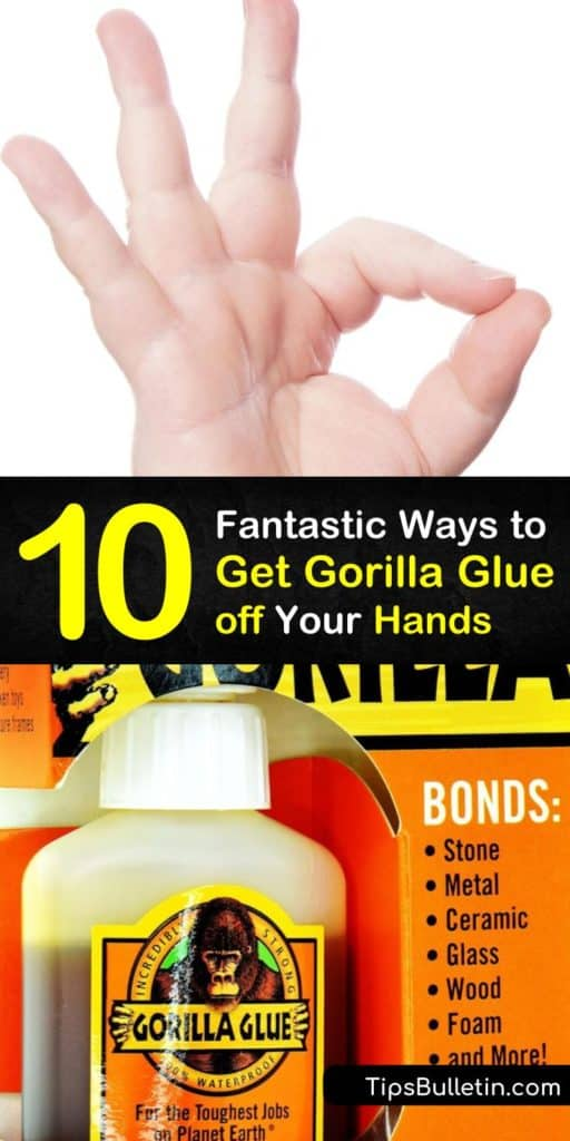 Learn how to clean up fresh or dried Gorilla Glue using common ingredients like soapy water and petroleum jelly. Try exfoliating with a pumice stone or applying nail polish remover with a cotton ball. Warm water with soap is effective for removing Gorilla Super Glue. #glue #gorillaglue #removal