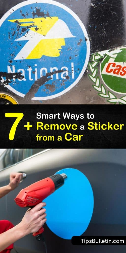 Learn how to remove stickers and decals from a car with everyday household ingredients like rubbing alcohol, a plastic credit card, and a hair dryer. Discover homemade options to remove car decals yourself with ease. #howto #remove #sticker #car