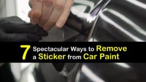 How to Remove a Sticker from Car Paint titleimg1