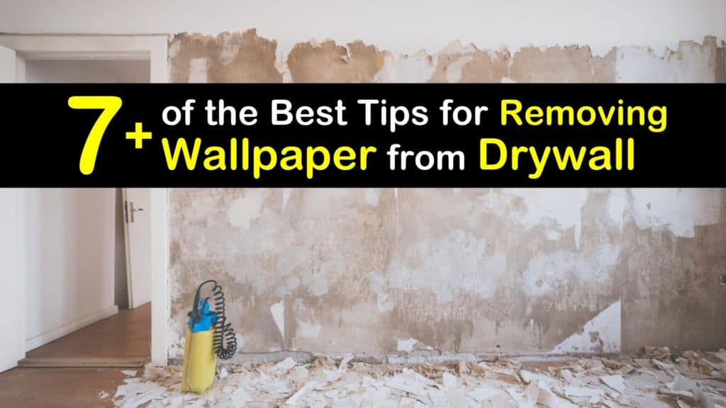 How to Remove Wallpaper from Drywall titleimg1