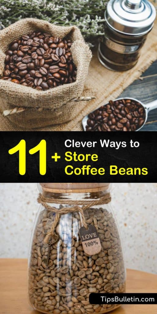 Utilize any old canister or airtight container to store coffee beans at room temperature. This article guides you through the places that coffee makers store fresh coffee so that it always makes a flavorful, steaming hot cup of joe or espresso. #store #coffee #beans