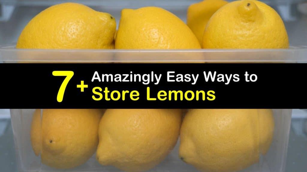 How to Store Lemons titleimg1