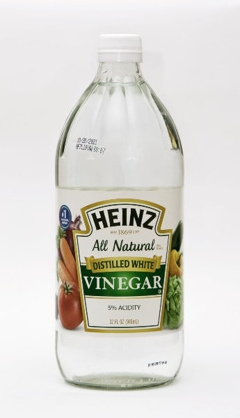 Vinegar is good for recipes and cleaning.