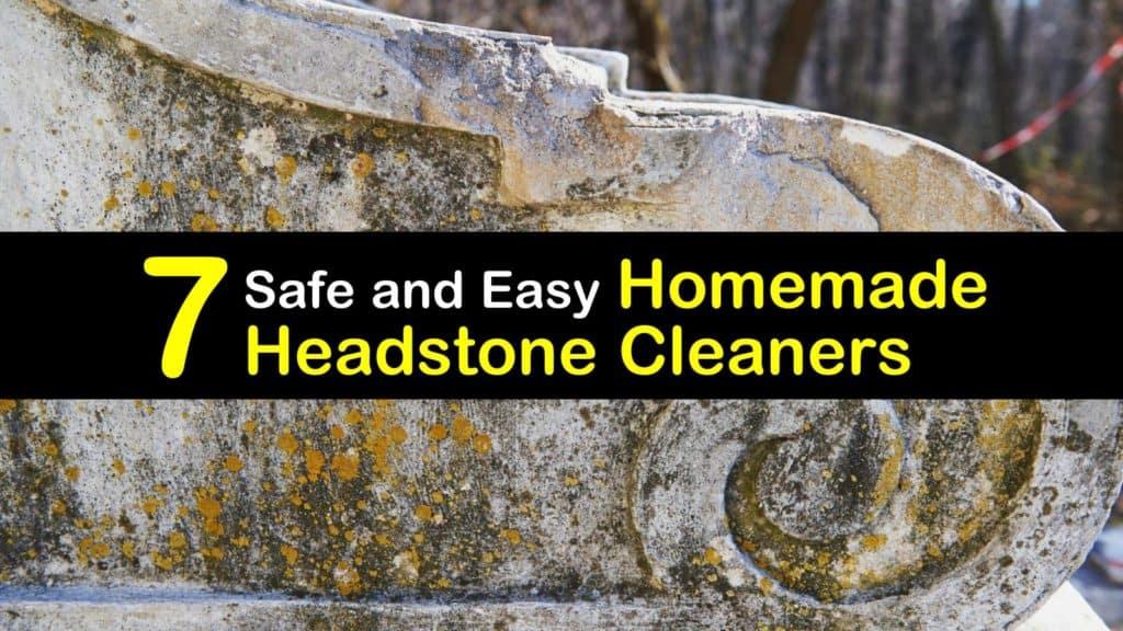 Homemade Headstone Cleaner titleimg1