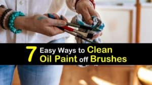 How to Clean Oil Paint off Brushes titleimg1